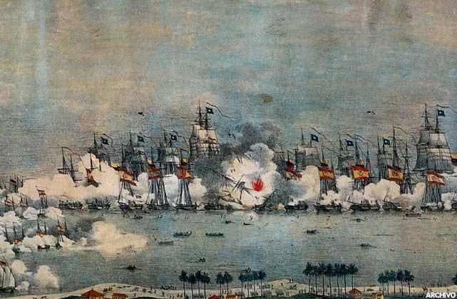 Batalla Naval de El Lago de Maracaibo-Fidel Ernesto Vasquez
