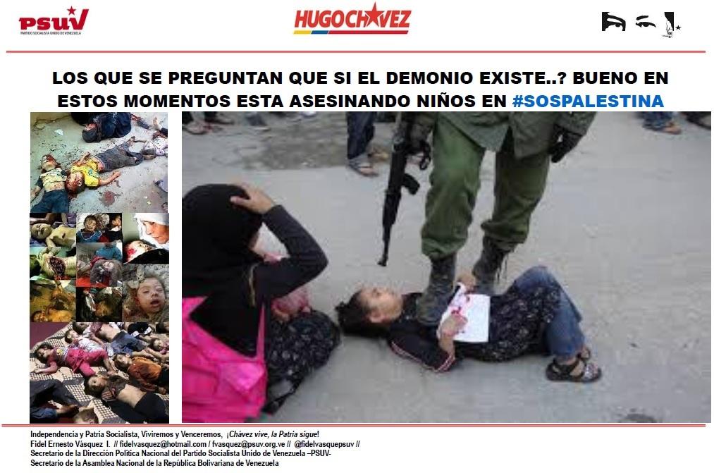 LOS QUE SE PREGUNTAN QUE SI EL DEMONIO EXISTE.. BUENO EN ESTOS MOMENTOS ESTA ASESINANDO NIÑOS EN #SOSPALESTINA
