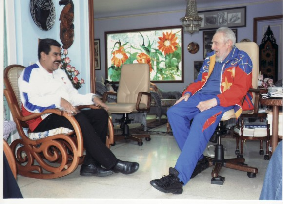 Fidel Castro-Nicolas Maduro-Fidel Ernesto Vasquez