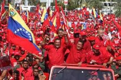 Hugo Chavez-William Fariñas-Fidel Ernesto Vasquez