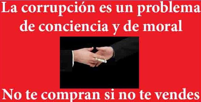 contra la corrupcion-Fidel Ernesto Vasquez