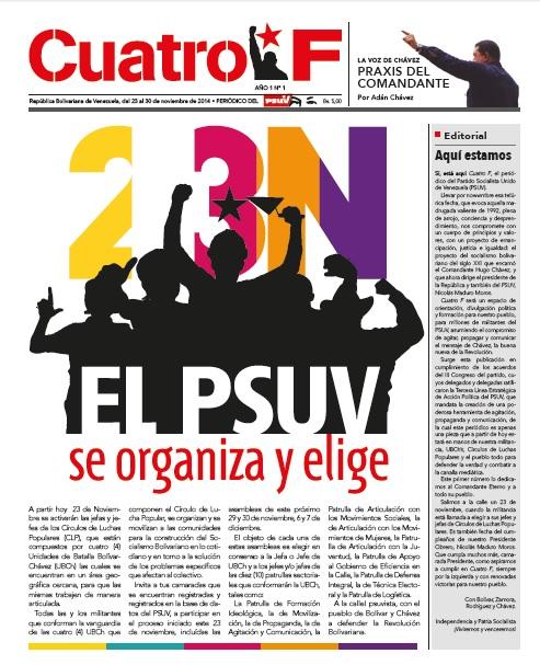 Periodico Cuatro F.Fidel Ernesto Vasquez