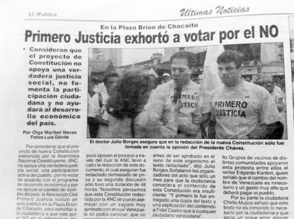 oposicion mando a votar contra la constitucion-Fidel Ernesto Vasquez