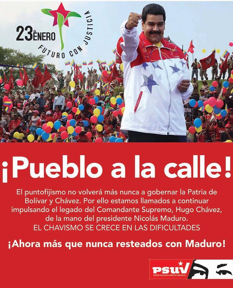 23 DE ENERO-PSUV-Fidel Ernesto Vasquez