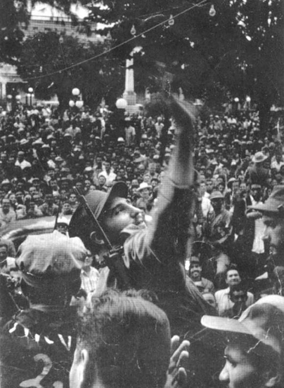Fidel Castro en Santiago de Cuba 1959-Fidel Ernesto Vasquez