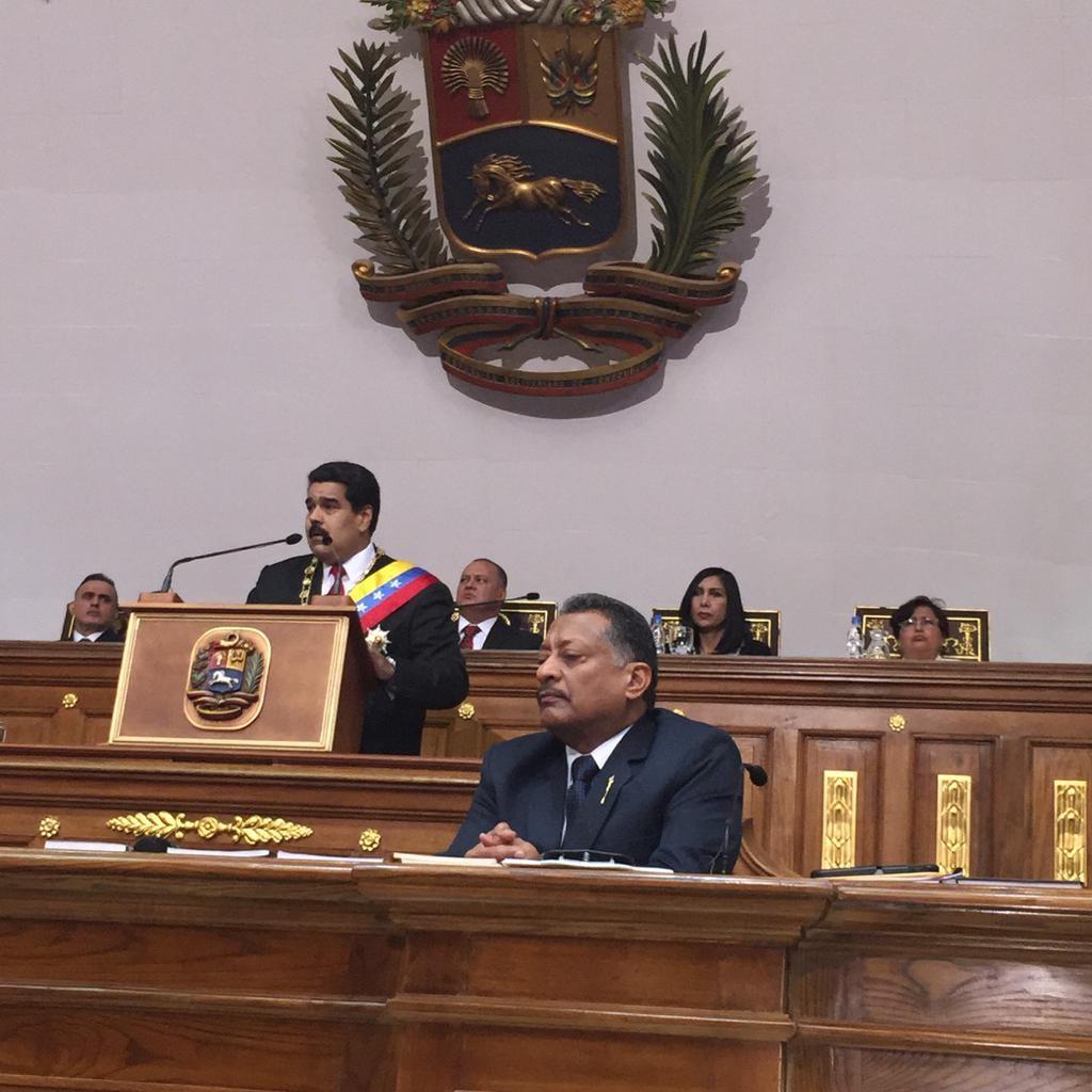 Nicolas Maduro Mensaje Anual en la Asamblea Nacional-Fidel Ernesto Vasquez