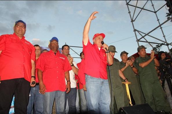 Diosdado Cabello-Daniel Haro-Aristobulo Isturiz-Fidel Ernesto vasquez