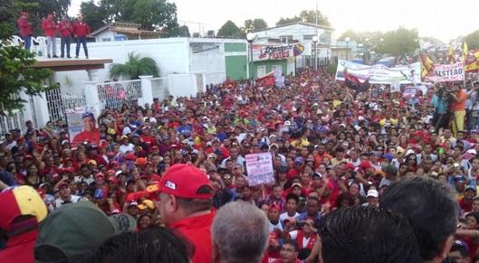 Diosdado Cabello en Cantaura-Fidel Ernesto Vasquez