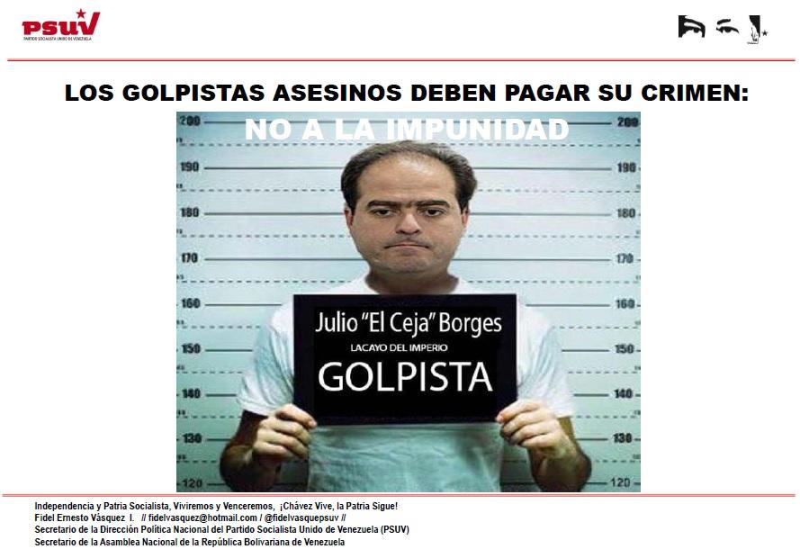 LOS GOLPISTAS ASESINOS DEBEN PAGAR SU CRIMEN.- NO A LA IMPUNIDAD
