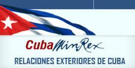 MINREX CUBA-Fidel Ernesto Vasquez