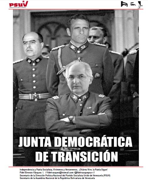 La Junta Democratica de Transicion-Fidel Ernesto Vasquez