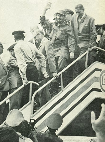 Luis Beltrán Prieto Figueroa-Fidel Castro-Fidel Ernesto Vasquez