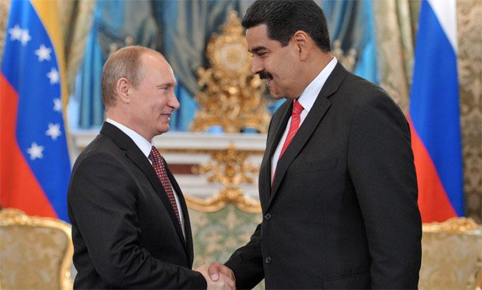 Nicolas Maduro-Vladimir Putin-Fidel Ernesto Vasquez