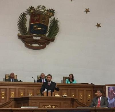 Vicepresidente Jorge Arreaza-Junta Directiva Asamblea Nacional-Fidel Ernesto Vasquez