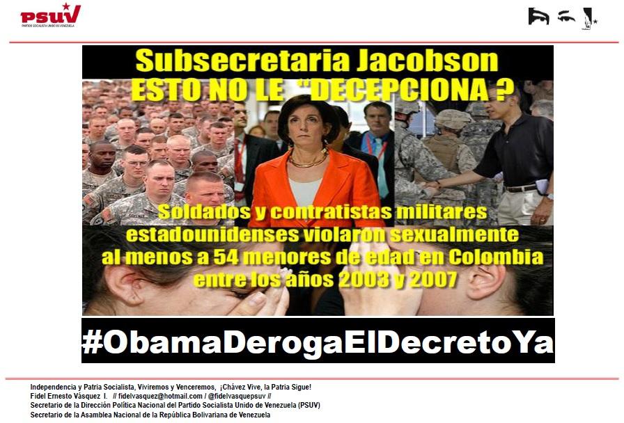 subsecretaria Jacobson-Fidel Ernesto Vasquez