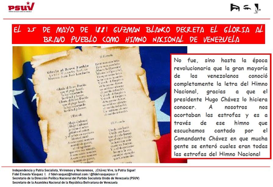 Himno Nacional-Fidel Ernesto Vasquez