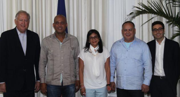 Diosdado Cabello-Delcy Rodriguez-Fidel Ernesto Vasquez