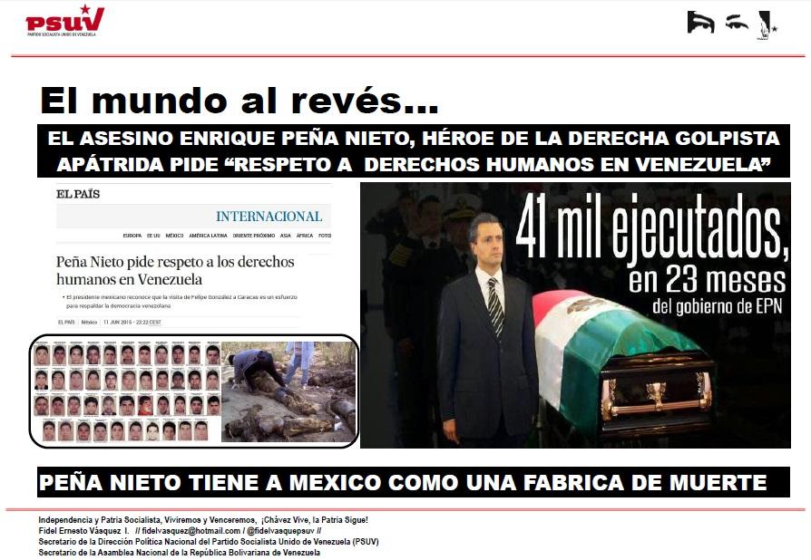 Peña Nieto heroe de la derecha