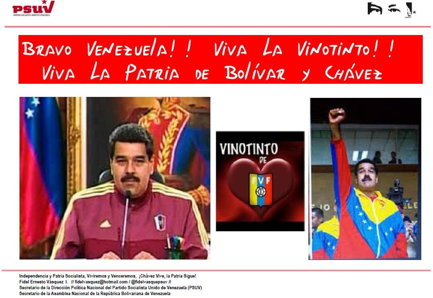 Vinotinto-Fidel Ernesto Vasquez