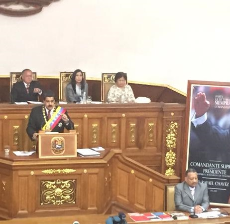 Alocucion Presidente Nicolas Maduro-Fidel Ernesto Vasquez