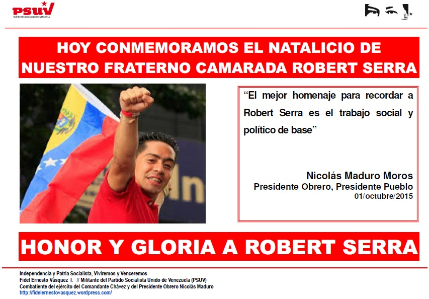 ROBERT SERRA