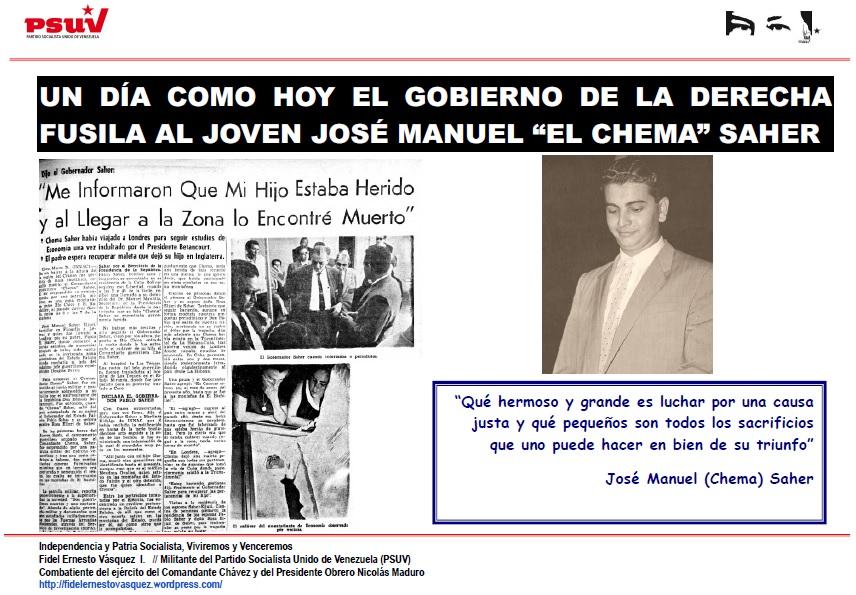 JOSE MANUEL CHEMA SAHER