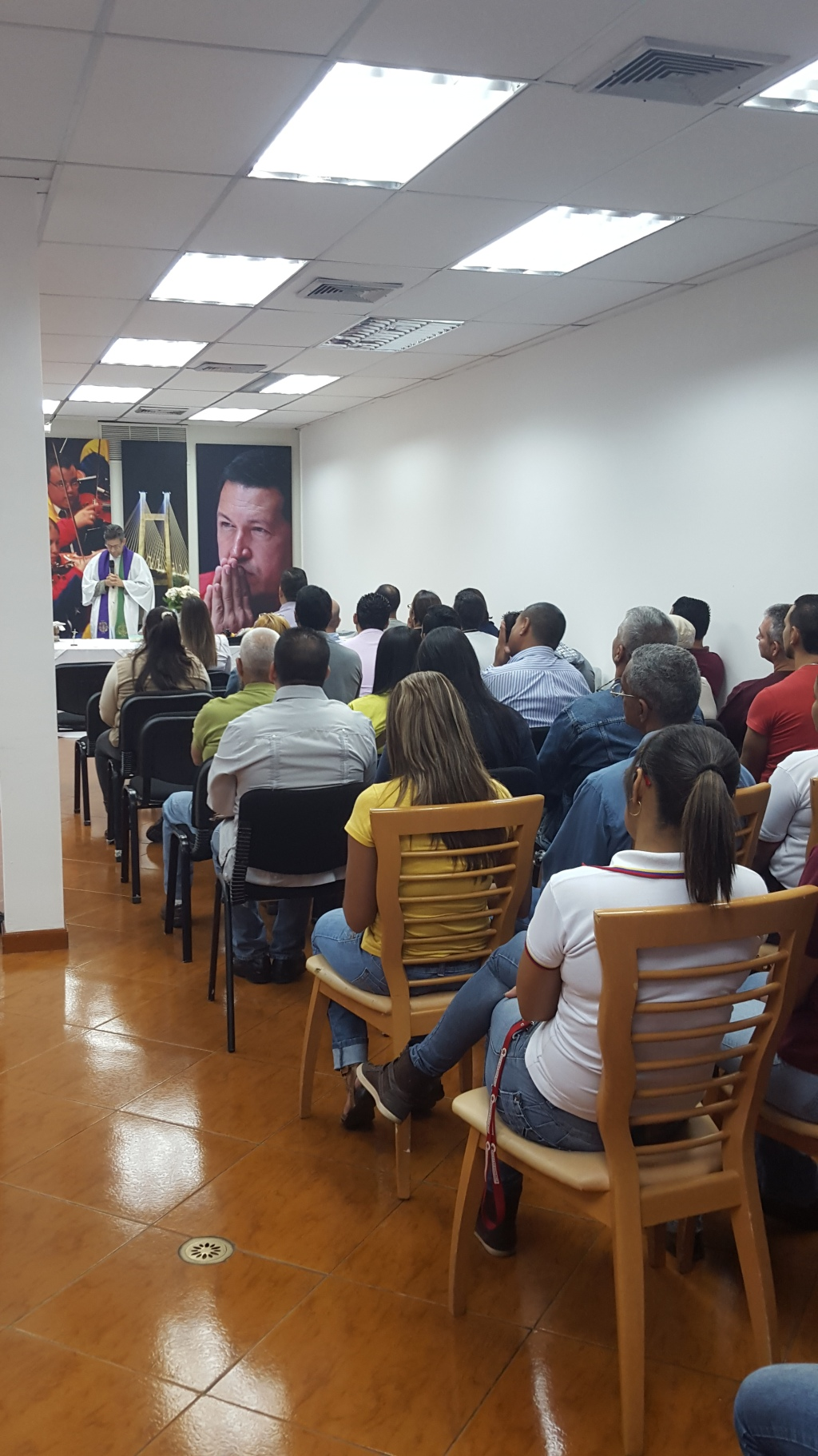 Misa en Honor Cte Chavez-Fidel Ernesto Vasquez