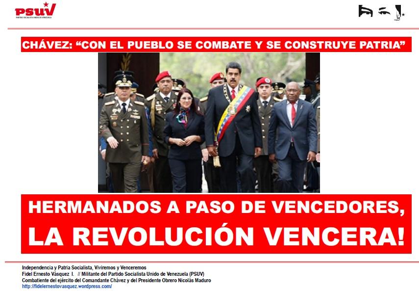 LA REVOLUCION VENCERA