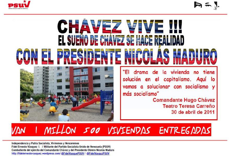 nicolas-maduro-1-millon-500-mil-viviendas